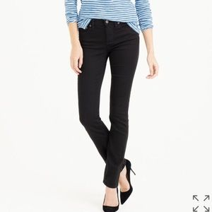 J Crew 30P Reid Black Wash Skinny Jean High Rise